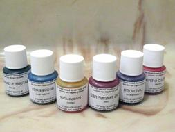 1/4 oz Liquid Dye for Candles, Aroma Beads, Lamp Oil Coloran