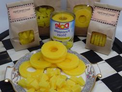 1/2 lb PINEAPPLE SLICE EMBEDS WAX CANDLE MAKING SUPPLIES TAR