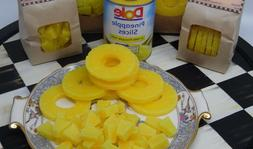 1 lb PINEAPPLE SLICE EMBEDS WAX CANDLE MAKING SUPPLIES TART