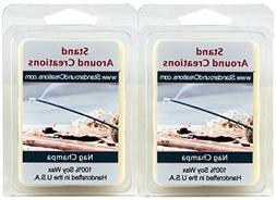 100% Premium Soy Wax Melt Tarts - Set of 2 - Nag Champa - Th