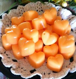 30 CHUNKY HEARTS Wax Tarts Strong Scented Handmade Candle Wa