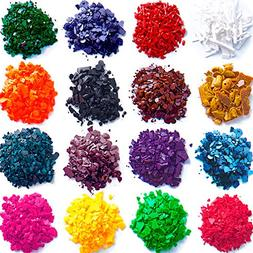 New 16 dye colors - Dye chips for making candles - Candle wa