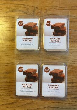 2 Pack - Food Network Candle Brownie Batter Bar Wax Melts Hi