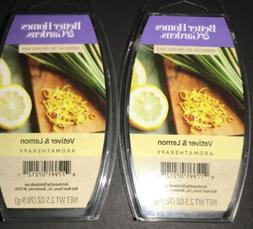 2  BETTER HOMES & GARDENS Aromatherapy Wax Melts VETIVER & L