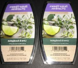 2  BETTER HOMES & GARDENS Aromatherapy Wax Melts LIME & EUCA