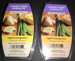 2  BETTER HOMES & GARDENS Aromatherapy Wax Melts LEMONGRASS