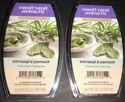 2  BETTER HOMES & GARDENS Aromatherapy Wax Melts ROSEMARY &