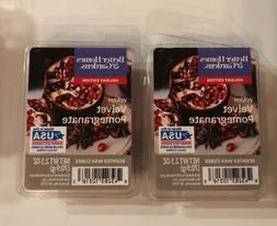 2 Packs Better Homes & Gardens Warm Velvet Pomegranate Wax M