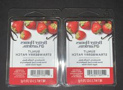 2  BETTER HOMES & GARDENS Wax Melts SUNLIT STRAWBERRY PATCH