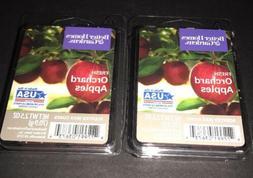 2  BETTER HOMES & GARDENS Wax Melts FRESH ORCHARD APPLES 2.5