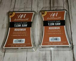 2 Humidor Woodwick Wax Melt 3 Oz Packs Tobacco Leaves Aged L