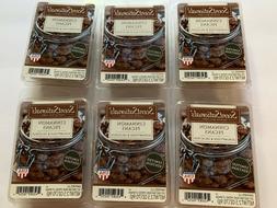 2 Lot ScentSationals Cinnamon Pecans Scented Wax Melts Cubes