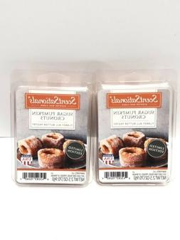 2 NEW SCENTSATIONALS Scented WAX CUBES Melts Sugar Pumpkin C