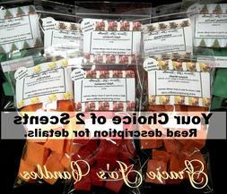 Wax Melt Tarts 2 pack 20 pc ea pk Bundle Candles Chunks Home