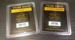 2 Pack Tyler Candle Company Mixer Melts Fragrance 1 Diva & 1
