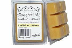 ChicWick 2 Pack Vanilla Bean Wax Melts 6oz Wax Tart Wax Cube
