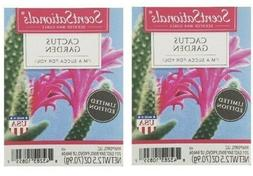 2 Packs Cactus Garden Scented Wax cubes Melts Tarts - ScentS