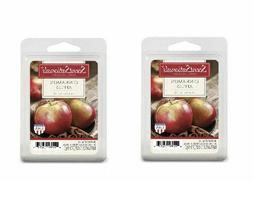 2 Packs Cinnamon Apples ScentSationals Wax melts tarts Scent