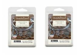 2 Packs Cinnamon pecans ScentSationals Wax melts tarts Scent