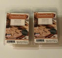 2 packs holiday cookies wax melts tarts