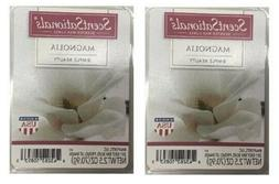 2 Packs Magnolia Scented Wax cubes Melts Tarts - ScentSation