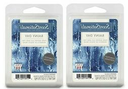 2 Packs Rainy Day Scented Wax cubes Melts Tarts - ScentSatio