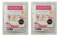 2 Packs Unicorn cake Scented Wax cubes Melts Tarts - ScentSa