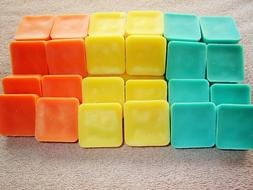 24 Wickless Scented Candle Wax Melts Tarts Cubes Handmade U