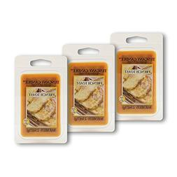 3 Pack - French Toast Tuscany Candle Wax Melts Fragrance Bar