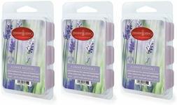 CANDLE WARMERS ETC 3-Pack 2.5 oz Wax Melt Tart oz. 3 pk, Lav
