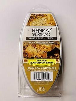 3-Packs Yankee Candle Banana Walnut Bread Wax Melts