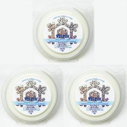 3 PACKS Bath & Body Works WINTER Fragrance Wax Melts Tarts W