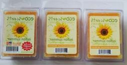 3 packs - EcoScents indian summer Wax Melts