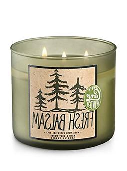 Bath & Body Works 3-Wick Candle in Fresh Balsam - packaging