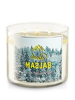 3 wick candle fresh balsam