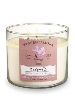 Bath and Body Works 3 Wick Scented Comfort Aromatherapy Cand