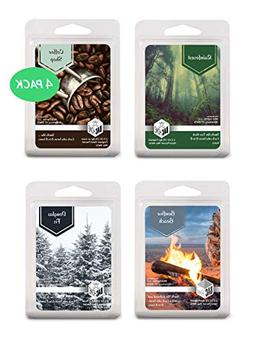 4 Pack - Pacific Northwest Collection Soy Blend Scented Wax