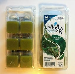 4 Glade Wax Melts Rosemary Sage 6 Melts per Package Up to 96