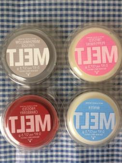 4 X Bath and Body Works Home Fragrance Wax Melts Cubes Holid