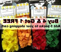 HALLOWEEN Fall Scents 40 pc Wax Tarts Melts 8 oz pk Chunks C