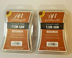 5 Packs Woodwick Wax Melts 3 Oz -Humidor- Use In Scentsy War