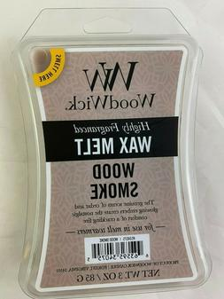 5 Packs Woodwick Wax Melts 3 Oz -Wood Smoke - Over $40 Value
