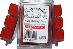 ChicWick Candles 3Pk Baked Apple Pie Soyblend wax melts 9oz