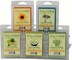 """EcoScents 100% All Natural Soy Wax Melts - """"Beach Pack"""""""