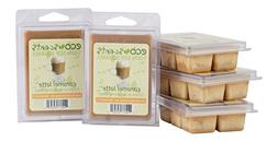 EcoScents Caramel Latte' Wax Melts 5 Pack, Brown