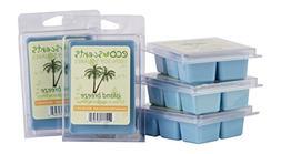EcoScents Island Breeze Wax Melts 5 Pack, Blue