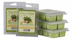 EcoScents Lemongrass Sage Wax Melts 5 Pack, Green