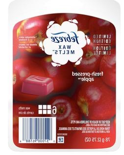 Febreze Fresh-Pressed Apple Wax Melts 6 Squares Each 4 Count