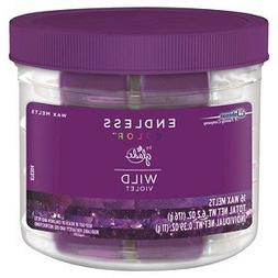 Glade Endless Color Wax Melts, Wild Violet, 6.2 oz