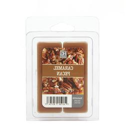 Hosley 6 Pack of 2.5oz Wax Cubes / Melts - CARAMEL PECANS W1